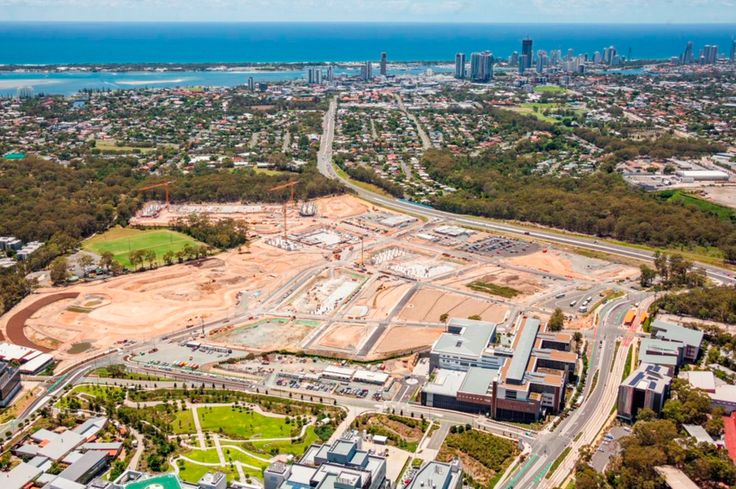 Gold Coast 2018 Commonwealth Games Spot the Cranes: 3 of 9 tower cranes are up and running on the site of the ‪#‎GC2018‬ Village The redevelopment of Parklands, Southport will be one of the largest urban renewal projects ever undertaken on the Gold Coast. The redevelopment will provide vital infrastructure for the Gold Coast 2018 Commonwealth Games™ (GC2018) and in the longer-term, it will form the key residential, commercial and retail part of the Gold Coast Health and Knowledge Precinct.
