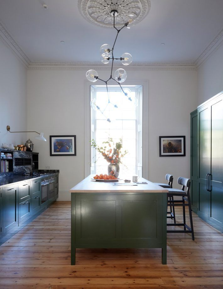 The Bespoke Units Including An Impressive Central Island Were Crafted By A Local Cabinet