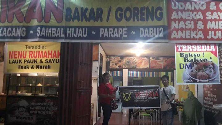 Visasia Entrepreneur Community - Rumah Makan Dapoer Marasa Alattappampang, Kel Manggalli, Kec. Pallangga Gowa, Sul Sel Contact : 085342739552 ( Aryani )