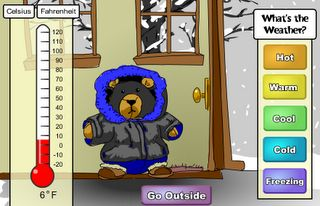 Interactive Education: What's the Weather?