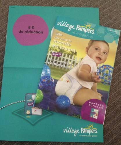 Village pampers bon de réduction et magazines