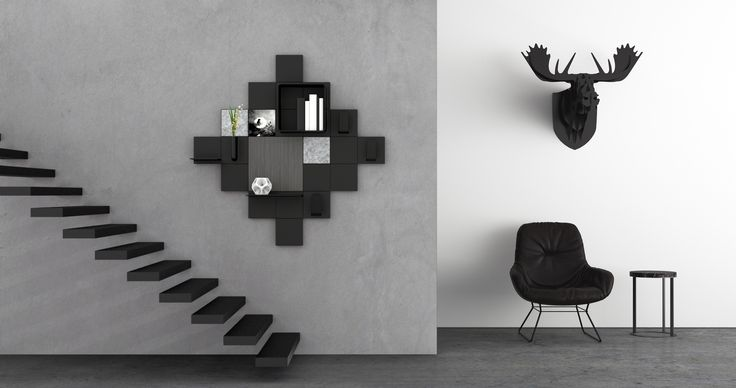 Black is black… don't be afraid of Black for your interior!