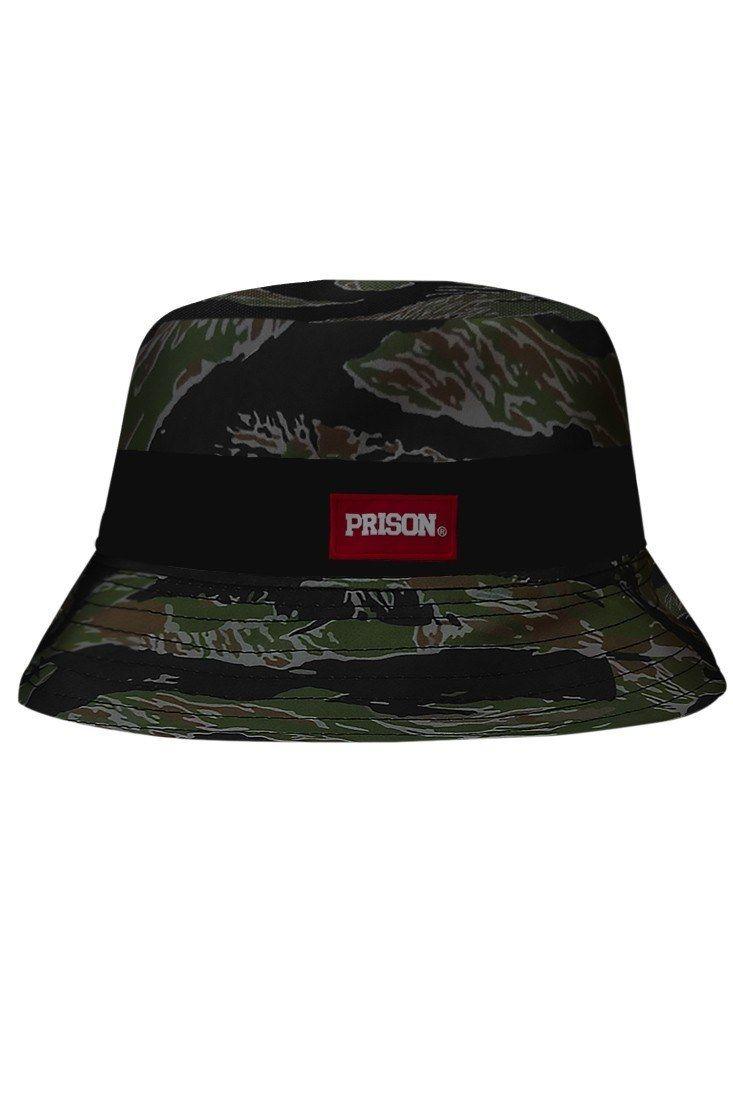 85b52944a5 Bucket Hat Camuflado Prison em 2019 | Chapéus Bucket Hat | Chapéu ...