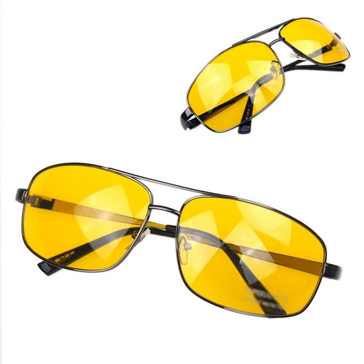 Lufa fahren Sonnenbrille Retro UV 400Schutzbrille gelb: Amazon.de: Sport & Freizeit