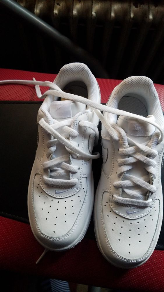 online store d879c 70532 NIKE Shoes Kids Youth Sz 5Y US Air Force 1 AF1 Low White Sneakers fashion  clothing shoes accessories kidsclothingshoesaccs unisexshoes (ebay  link)