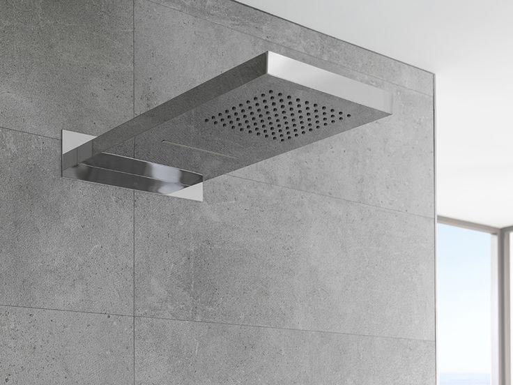 THE WATERFALL COLLECTION   #Rociadores con múltiples funciones para que disfrutes de una experiencia de #ducha completa.  • De un auténtico ritual de relajación•  #diseñodebaños #interiorismo