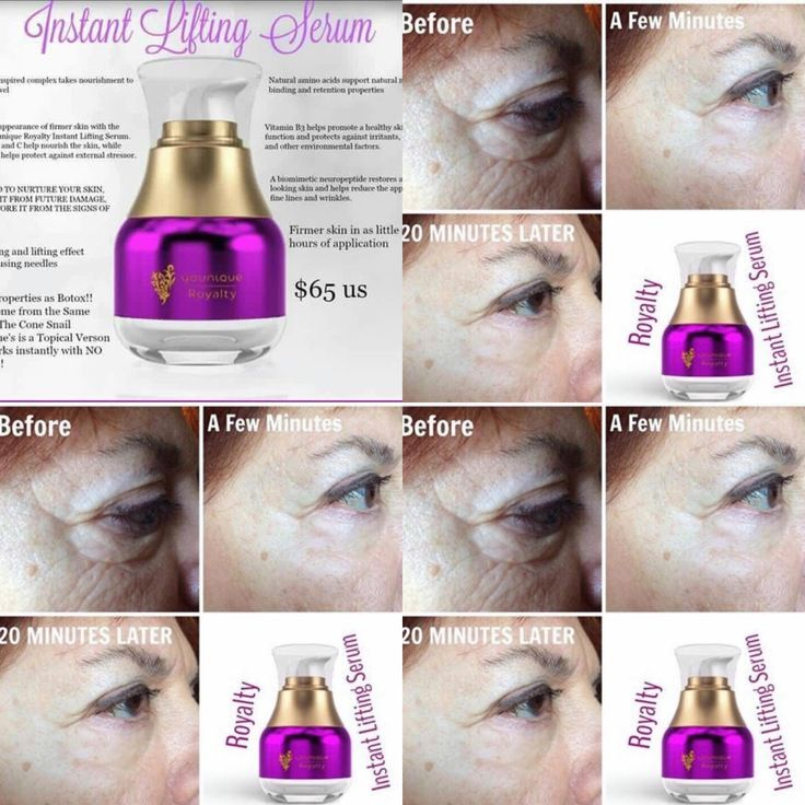 Instant uplift beauty serum results in 10 minutes full results within two  hours 100% guaranteed