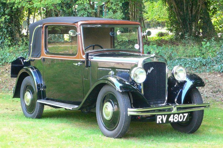 1934 Austin 10/4 Cabriolet