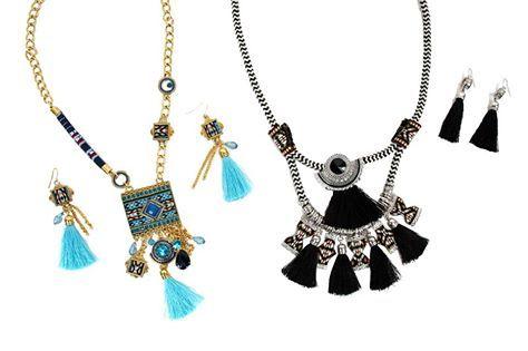 #DOCA #SS15 Collection Στη νέα συλλογή Α/Κ 2015 θα βρείτε σετ από κολιέ και σκουλαρίκια, σε χρώματα που συνδυάζονται εύκολα & δείχνουν υπέροχα! Δείτε περισσότερα στα DOCA Shops & Online: http://www.doca.gr/el/online-shop/anoixi-kalokairi-15/kosmimata/set-kosmimaton-ss-15.html #jewellery #necklace #earrings #set