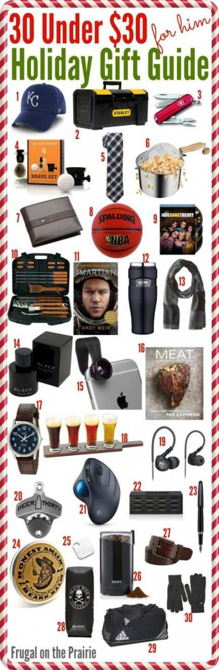 Super Gifts For Him Christmas Boyfriends Budget Ideas