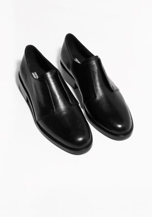 & Other Stories- Leather Flats