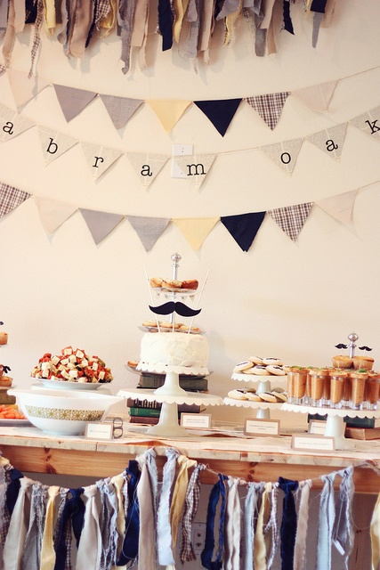 earthy, hipster pregnancy shower