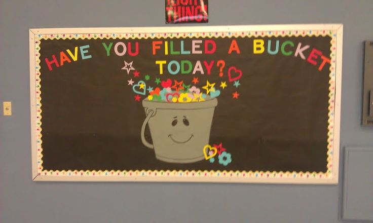 Bucket Filler's Bulletin Board