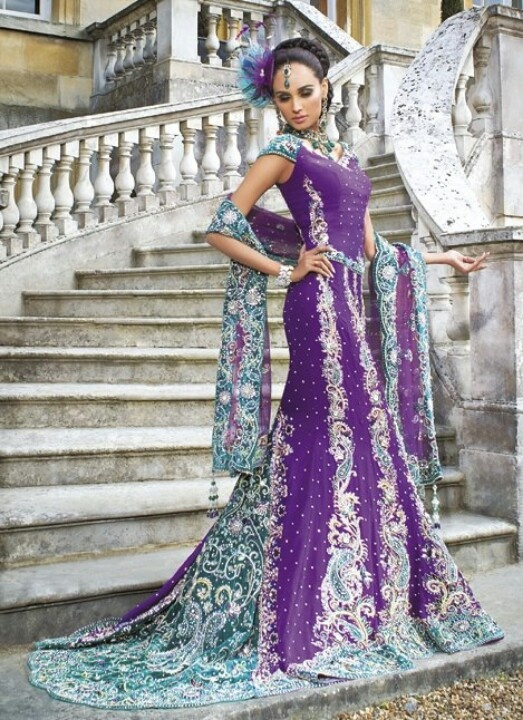 Beautiful indian wedding dress beautiful 3 pinterest for Wedding dresses indian style