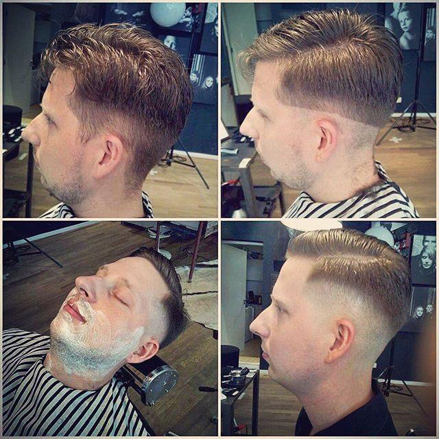 Knippen en scheren bij Papillon. #knippen #strak #haar #baard #trimmen #scheren #barbershop #kapper #herenkapper #Boost #vintage #relax #beard #men