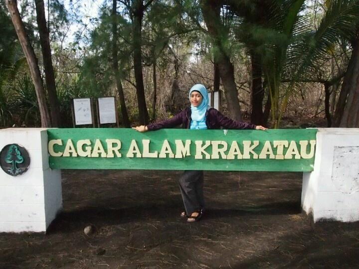 Here, i'm at Cagar Alam Krakatau Sumatra #Indinesia