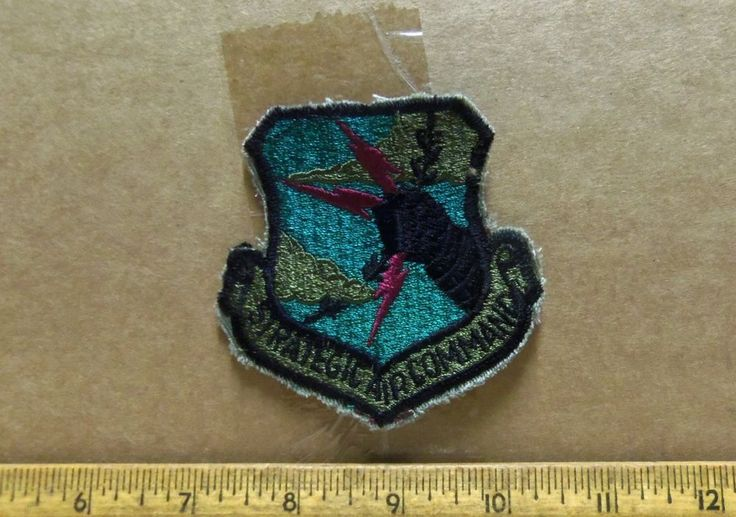 U.S. Air Force - Strategic Air Command Embroidered Patch (NOS)