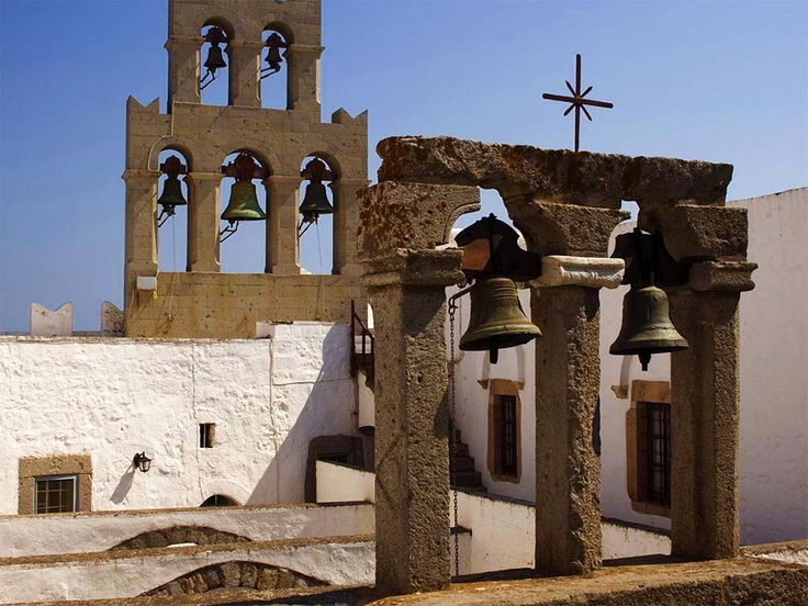 Google 3D Navigation in Patmos Monastery of St John | GreekVoyager