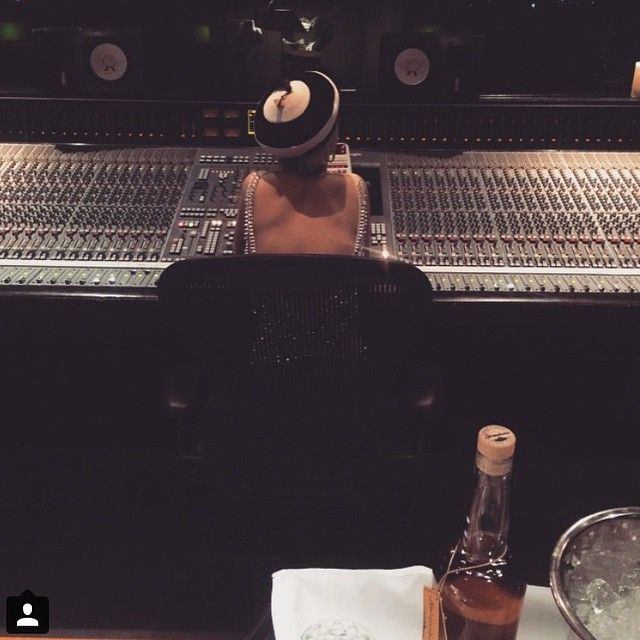 Rita Ora in studio | Instagram