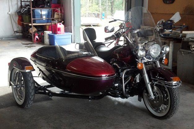 Honda Mobile Al >> Al & Annie 1998 Harley Davidson Roadking & Harley Davidson Sidecar | Sidecar rigs | Pinterest ...