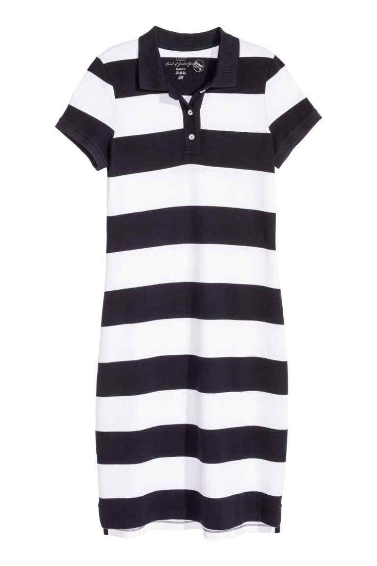 Piqué dress   H&M