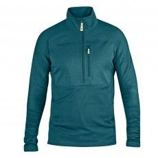 Fjallraven Abisko Trail Pullover fleece trui heren glacier green