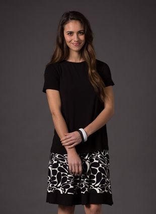 Printed Skirt - soft and have no elastic through them. This means if you have had a c-section or that area is just generally sore after baby, these skirts will not put any pressure there.