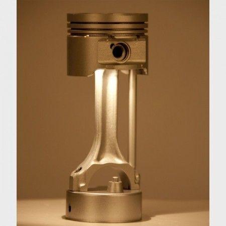 Lámpara pistón