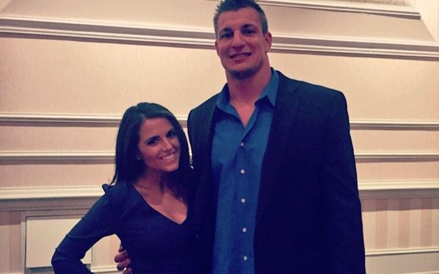 Rob Gronkowski is single and is fully exploiting that martial status.