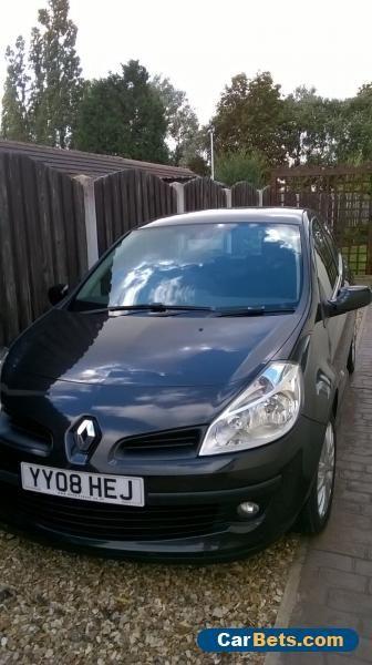 Renault Clio Dynamique DCI 1.5 Diesel 2008 #renault #clio #forsale #unitedkingdom