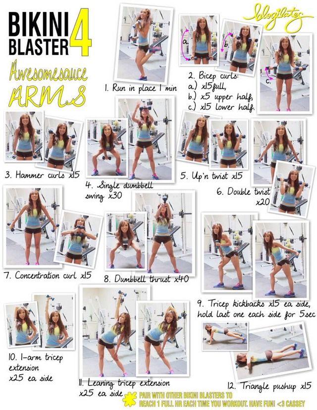 Bikini Blaster Bikini Body In Just Week  3 Gymless Workout
