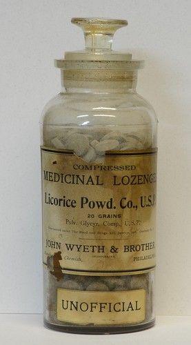 apothacary bottle