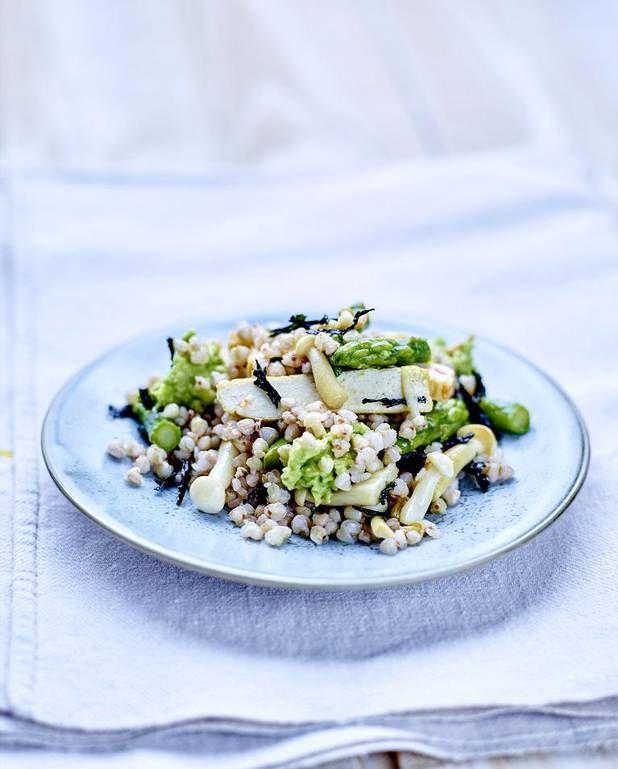 Salade de quinoa et asperges vertes pour 6 personnes - Recettes Elle à Table