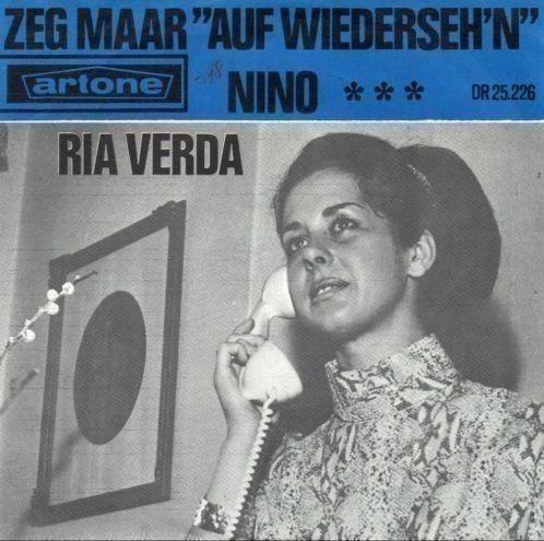"""Ria Verda - Zeg Maar """"Auf Wiederseh'n"""" (Vinyl) at Discogs"""