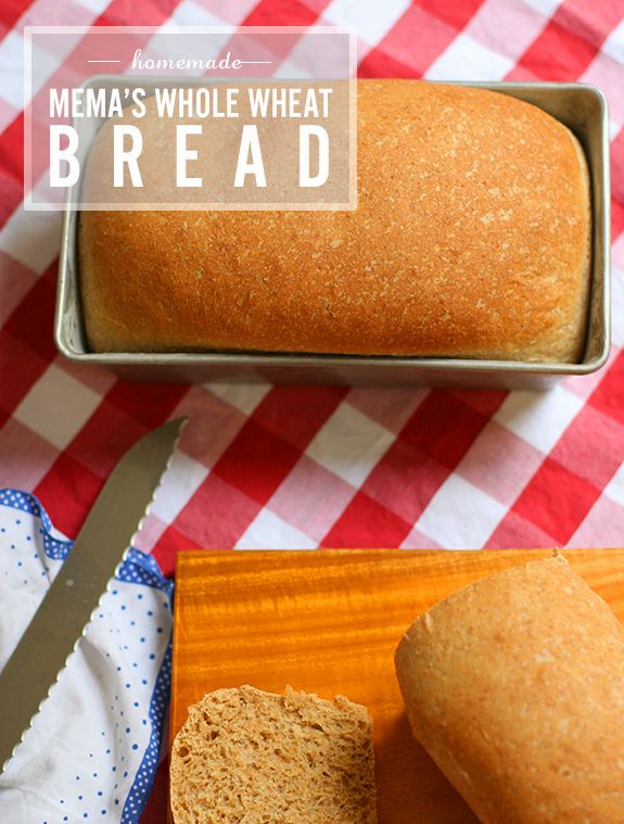 James and I are looking for a new bread recipe.  This one looks good.  Whole Wheat Bread from Say Yes To Hoboken