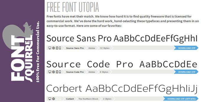 8 Places to Download Free Fonts Online