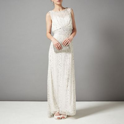 Phase Eight Ivory hope wedding dress- at Debenhams.com