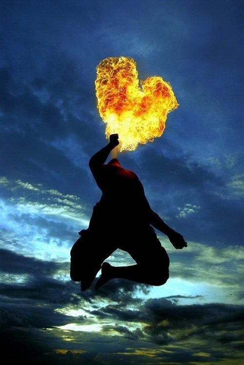 At the heart of fire...