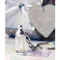 Crystal Bottle Keychain Favour