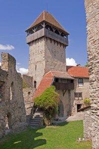 calvic medieval fortress in Transylvania - UNESCO world heritage