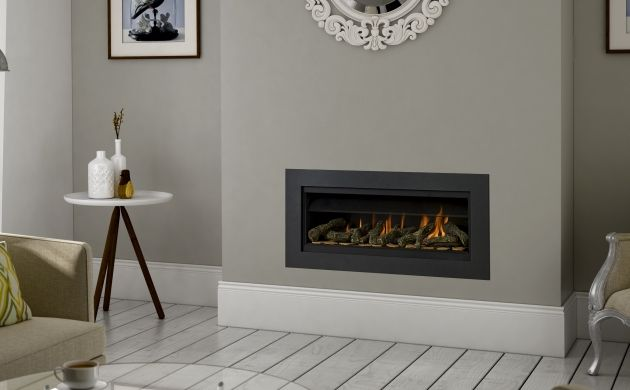 Paragon P7 highly efficient hole in the wall gas fire