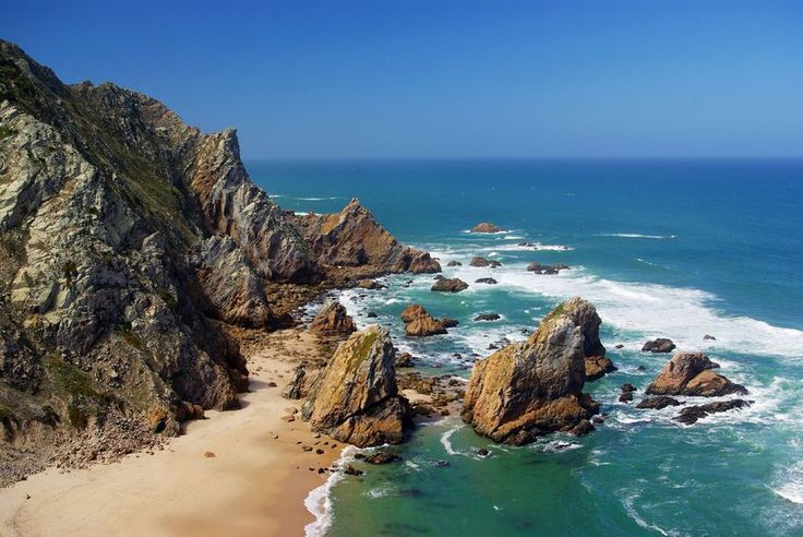 Las mejores playas cerca de lisboa via anaya touring 19 - Banarse con delfines portugal ...