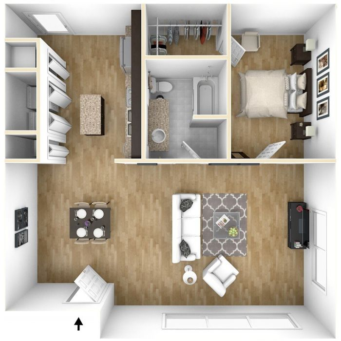 Featured Apartment Live Work Loft Our 1 Bedroom Loft Apartments Feature Spacious Layouts Equipped With Modern Apartment One Bedroom Apartment Live Work Lofts