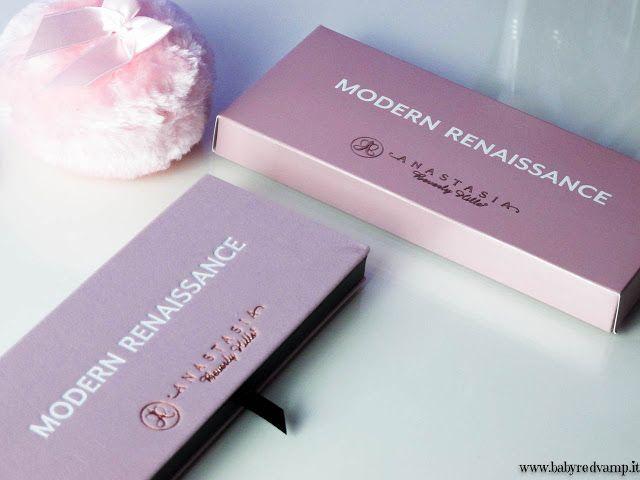Babyredvamp Makeup: Anastasia Beverly Hills - Modern Renaissance Palet...