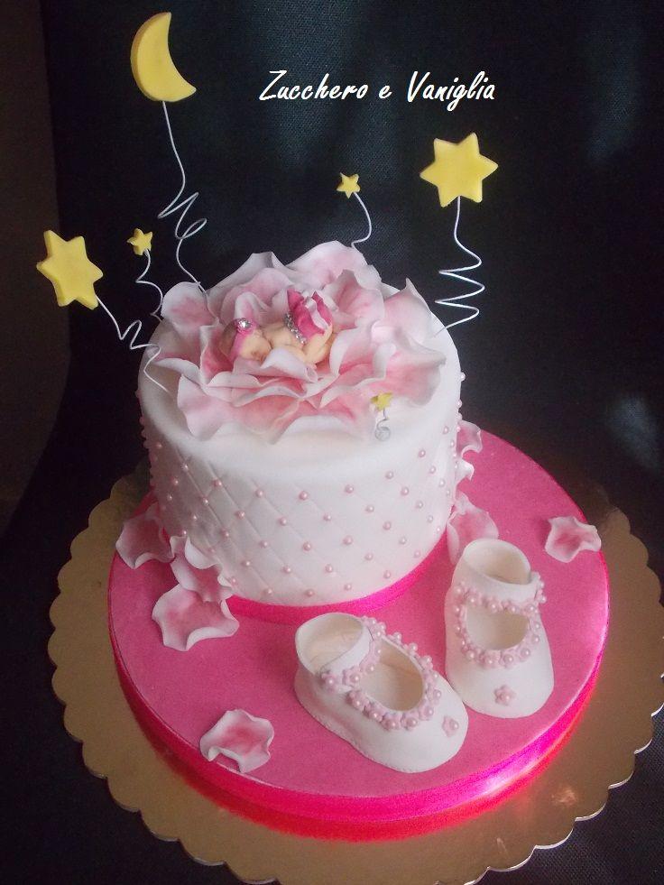 battesimo  cake nascita