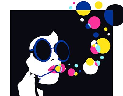 """Check out new work on my @Behance portfolio: """"Bubbles"""" http://be.net/gallery/57572693/Bubbles"""