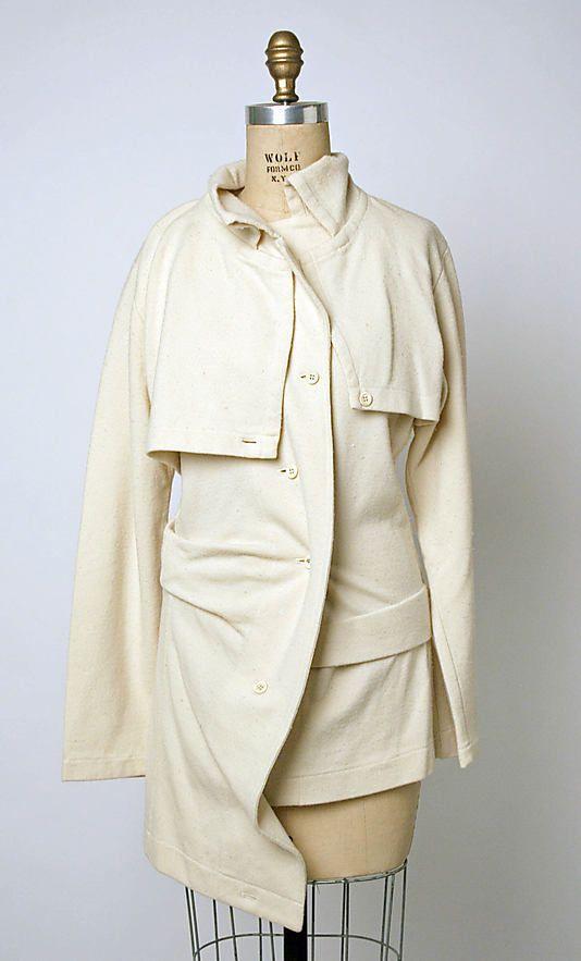 Sweater  Comme des Garçons  (Japanese, founded 1969)  Designer: Rei Kawakubo…