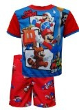 "Super Mario 3DLAND All Mario Pajamas for boys (6) - Super Mario 3DLAND All Mario Pajamas for boys (6)      Machine Washable; Easy CareImported        List Price: $  34.00    Price: [wpramaprice asin=""B00ATJSF8G""]      [phpbay keywords=""{category}"" nu"