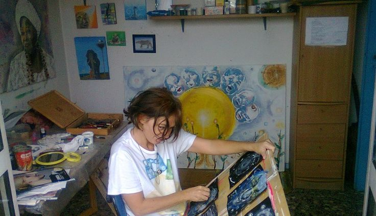"""I've been selected to keep a blog on a London Art Network which I titled """"Going with the creative process"""". Here's the introductory article """"A bit of my story"""" see: http://blog.artlyst.com/going-with-the-creative-process/"""