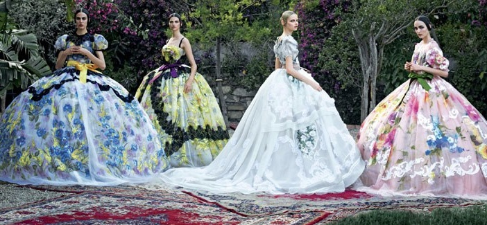 Dolce & Gabbana's first Haute Couture collection! Fall/Winter 2012